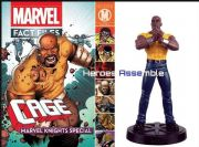 Marvel Fact Files Luke Cage Special With Figurine Eaglemoss